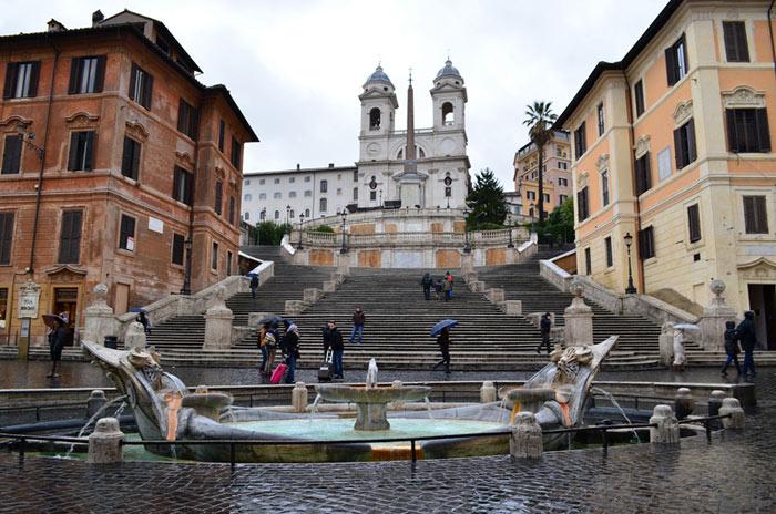 Place Espagne Rome