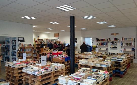 La bouquinerie du Sart, le bon spot pour vos achats solidaires