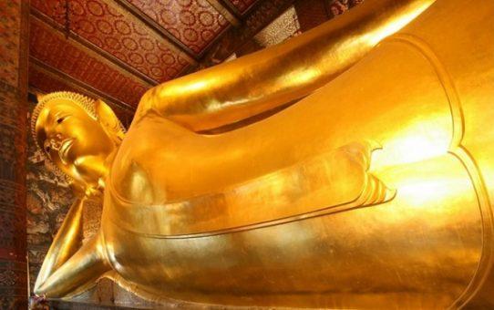 A la découverte du Wat pho et son Bouddha couché