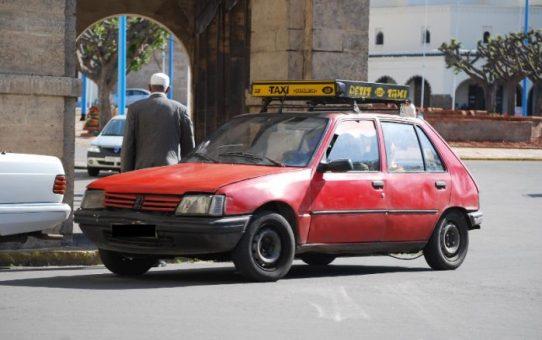 Transport Maroc : les petits taxis oui oui oui !