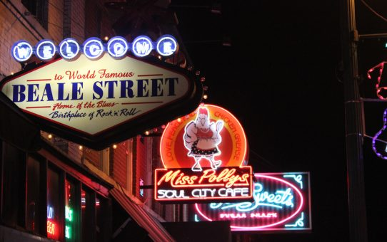 Au cœur du blues de Memphis sur Beale Street