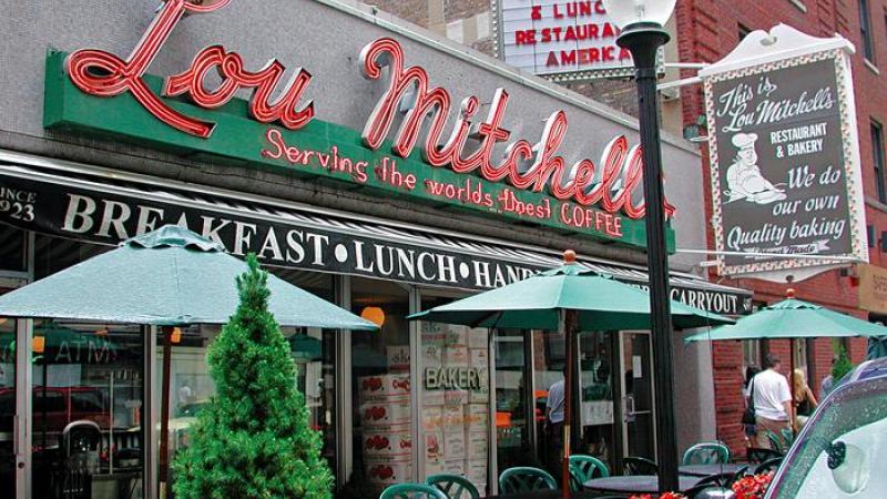 Lou Mitchell's ou la première étape de la route 66